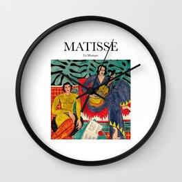 Matisse - La Musique Wall Clock