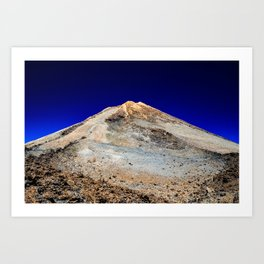 Vulcano on Tenerife Art Print