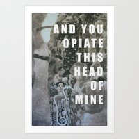 medicine Art Prints featuring Medicine  by AEP Designs