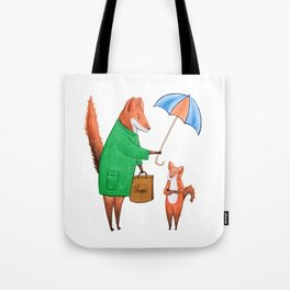 Fox friends Tote Bag