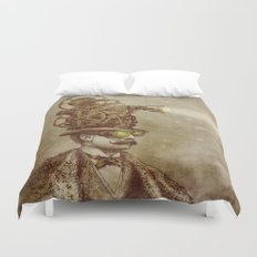 The Projectionist (sepia option) Duvet Cover