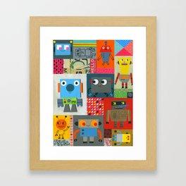 FIXIT BOTS Framed Art Print