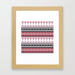 Bohemian Style R&W Framed Art Print