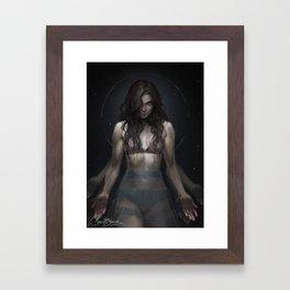 Big God Framed Art Print