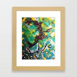 Coffee Catatrophe 101 Framed Art Print