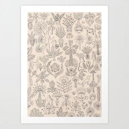 Garden of Love Art Print