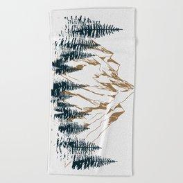 mountain # 4 Beach Towel