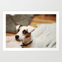 jack Art Prints featuring jack by vaughan granberg