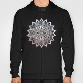BLUE BOHO NIGHTS MANDALA Hoody