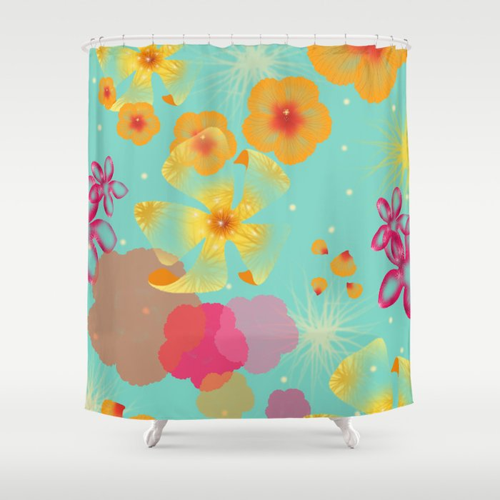 ibiscus Shower Curtain