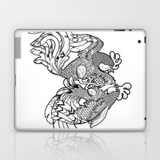 Rooster BW Laptop & iPad Skin