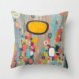 samedi matin Throw Pillow