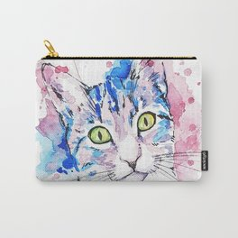 Watercolor Miju Carry-All Pouch