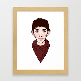 Merlin Framed Art Print