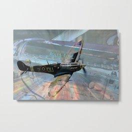 Rolls-Royce Merlin Metal Print