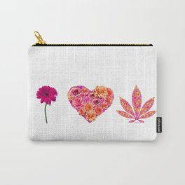 i Heart Pot Leaf Carry-All Pouch