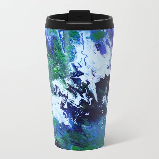 Arctic Moss Metal Travel Mug