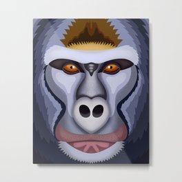 Gorila Metal Print