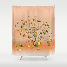 window curtain - candytree -2- Shower Curtain