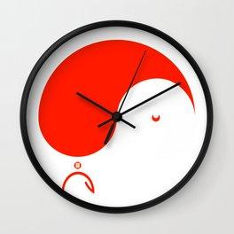 Yule Yang  Wall Clock