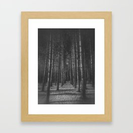 Into the woods... Framed Art Print