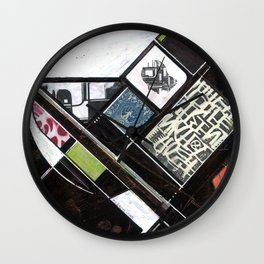 Mapping Moments 005 (Thoughts on Constructivism) Wall Clock