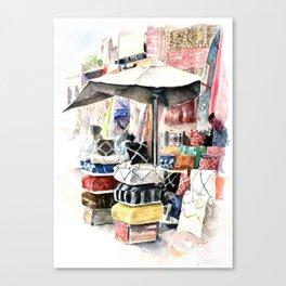 Marrakesh Souk Canvas Print