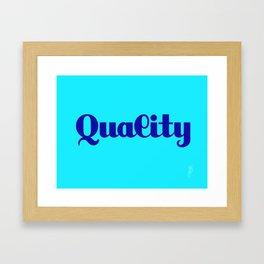 Quality Framed Art Print