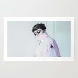 Rose Sunglasses Art Print