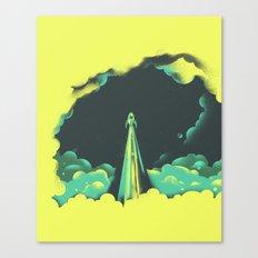 rad little rocket Canvas Print