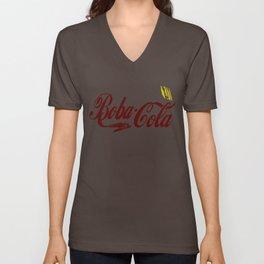 Boba Cola (fett colors) Unisex V-Neck