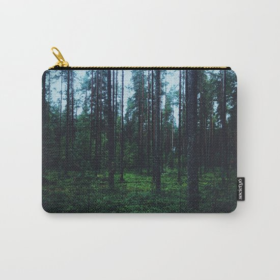 mysterious woods Carry-All Pouch