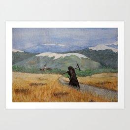 Pesta - a painting of the Plague Art Print