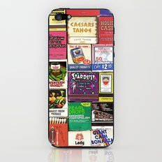 Antique Matchbooks iPhone & iPod Skin