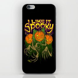 I Like It Spooky iPhone Skin