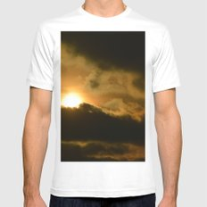 Beauty in the Storm Mens Fitted Tee White MEDIUM