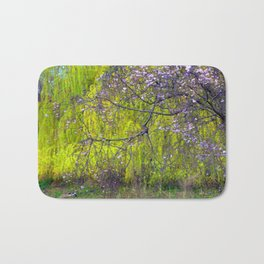 influence: monet Bath Mat