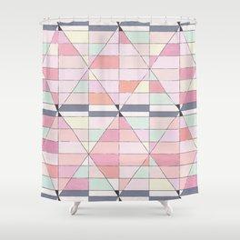 Sorbet Pinks Shower Curtain