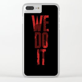 Survival Horror II Clear iPhone Case