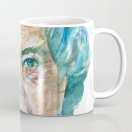 ELIZABETH II - watercolor portrait Coffee Mug