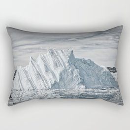 Mission North | The Tip of the Iceberg Rectangular Pillow