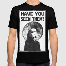 The Bucket Brigade: Search for Imperial Chin Black Mens Fitted Tee MEDIUM