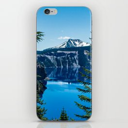 Crater Lake // Incredible National Park Views of the Dark Blue Waters Sky and Mountains through the iPhone Skin