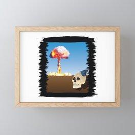 Fukushima Butterfly Framed Mini Art Print