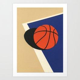 Oakland Basketball Team Art Print