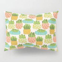 Happy Succulents Pillow Sham
