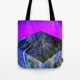 Flat Earth Apocalypse Tote Bag