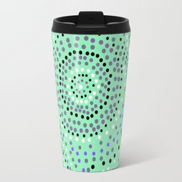 Dots- aboriginal Travel Mug