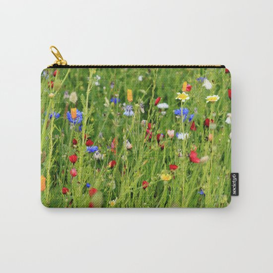 Colourful Garden - JUSTART © Carry-All Pouch