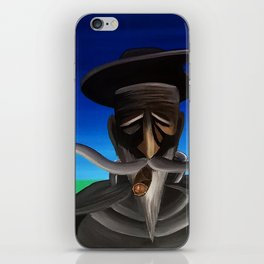 Don Quixote con Puro iPhone Skin